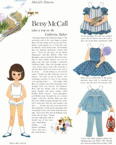 Betsy McCall Vintage Paper Dolls